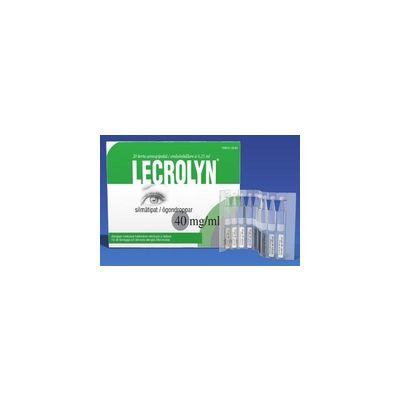 LECROLYN 40 mg/ml silmätipat, liuos, kerta-annospakkaus 20x0,2 ml