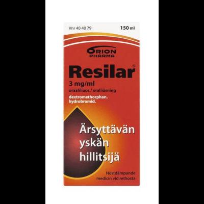 RESILAR 3 mg/ml oraaliliuos 150 ml