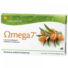 Omega7 Tyrniöljy 60 kaps