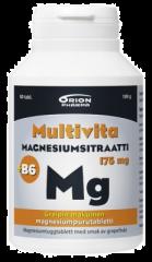 MULTIVITA MAGN.SITR+B6 GREIPPI 175MG 80 PURUTABL